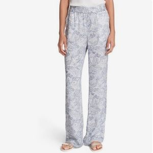 JOIE Multi-Color Pastel Print Polyester Pants